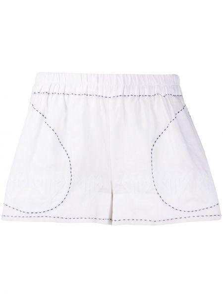 Белые короткие шорты эластичные Vita Kin