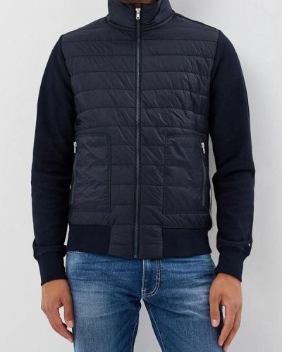 Синяя куртка осенняя Tommy Hilfiger