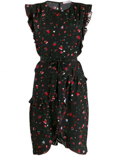 Платье с запахом с цветочным принтом Derek Lam 10 Crosby