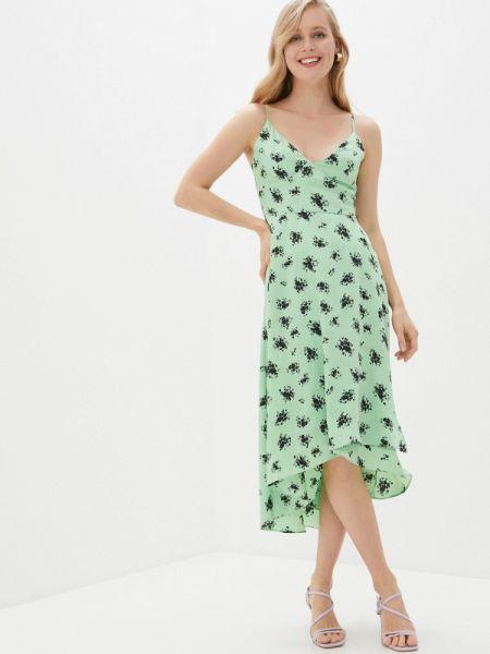 Платье платье-комбинация зеленый Befree