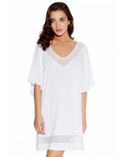 Белое пляжное платье Freya