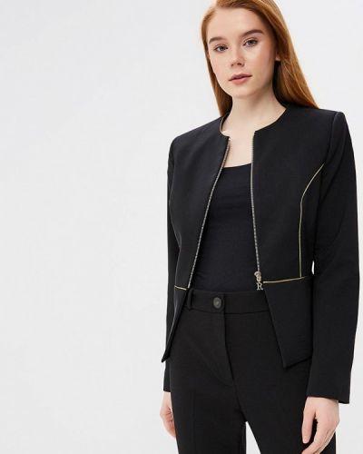 Черный пиджак Rinascimento