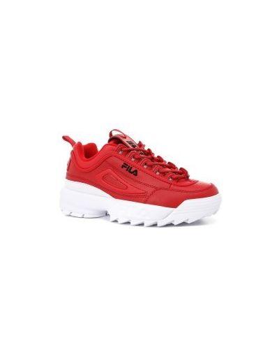Кроссовки красный Fila