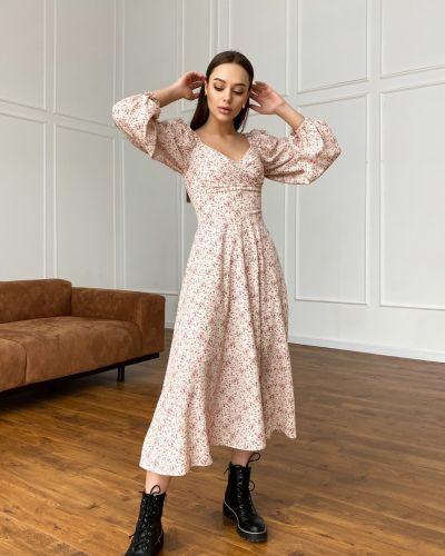 Приталенное платье миди Cardo