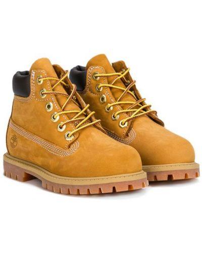 Ботинки коричневый Timberland Kids