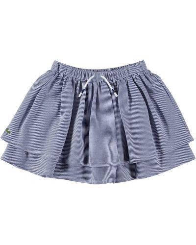 Серая юбка Lacoste