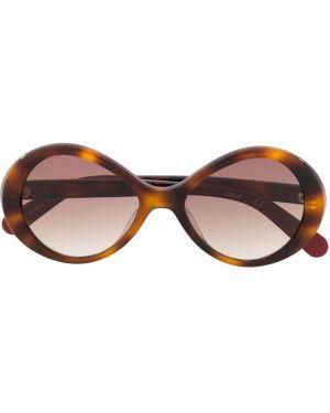 Brązowe okulary Chloé Kids