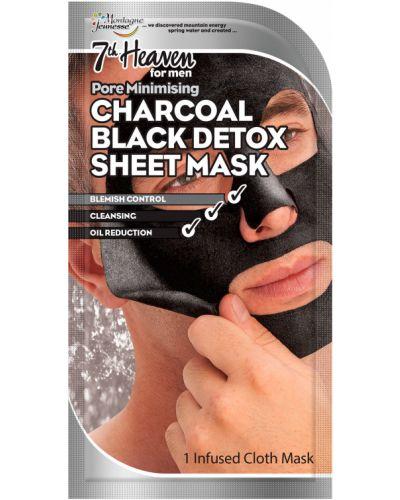 Черная маска для лица 7th Heaven