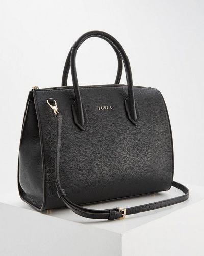 Черная сумка через плечо Furla