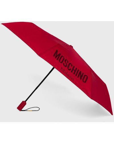 Parasol czerwony Moschino