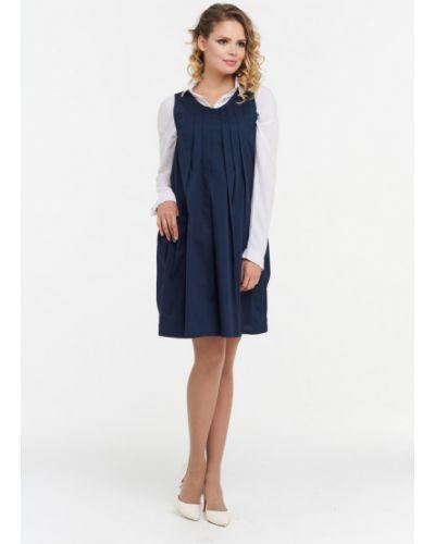 Платье синее Vay