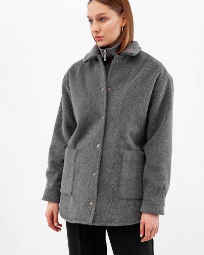 Серое пальто Dorogobogato