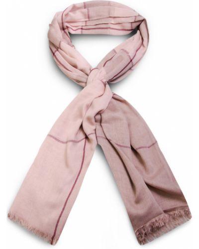 Różowa szal w kratę Allora