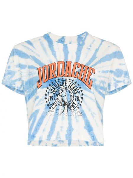 Футбольная синяя футболка Jordache