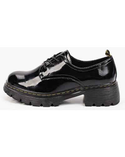 Черные зимние туфли Francesco Donni
