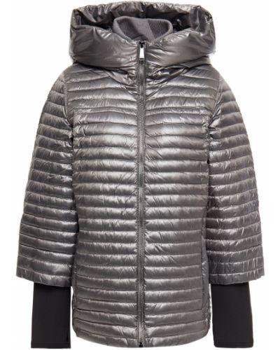 Стеганая пуховая куртка с манжетами Dkny