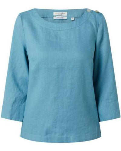 Bluzka zapinane na guziki - turkusowa Christian Berg Women