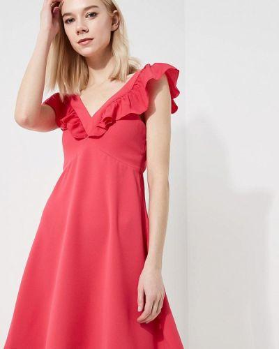 Розовое платье весеннее Liu Jo