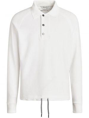 Biała bluza bawełniana Z Zegna