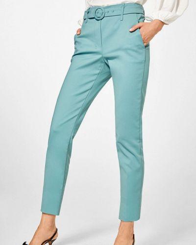 Классические брюки бирюзовый весенний Pedro Del Hierro