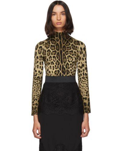 Водолазка черная стрейч Dolce & Gabbana
