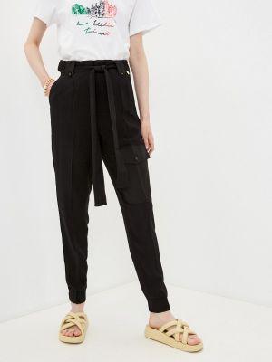 Черные брюки карго Twinset Milano