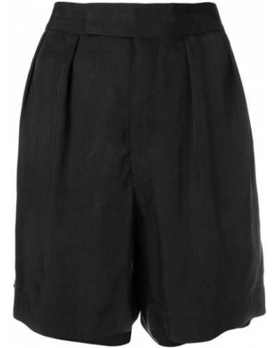Черные шорты с карманами на пуговицах Neil Barrett