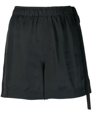 Черные шорты с карманами Helmut Lang