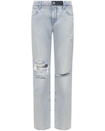 Хлопковые синие джинсы Rta