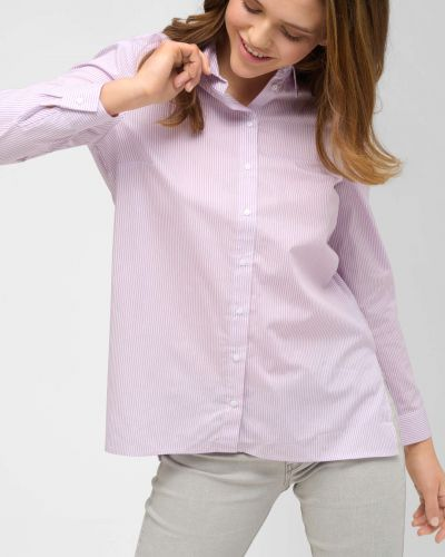 Koszula bawełniana elegancka w paski Orsay