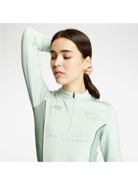 Серебряное боди Nike