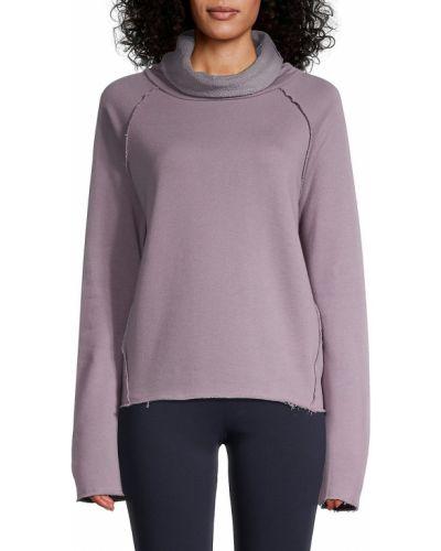 Хлопковая пуловер с рукавом реглан Alala