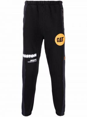 Спортивные брюки из полиэстера - черные Heron Preston