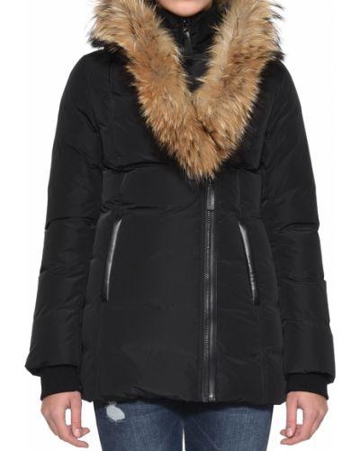 Черная куртка Mackage