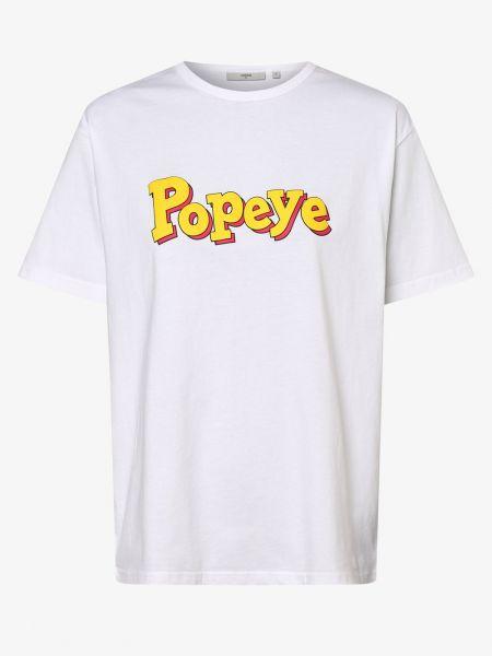 T-shirt - biała Minimum