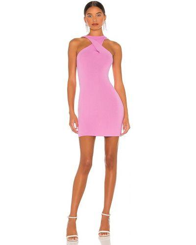 Sukienka z wiskozy - różowa Atoir