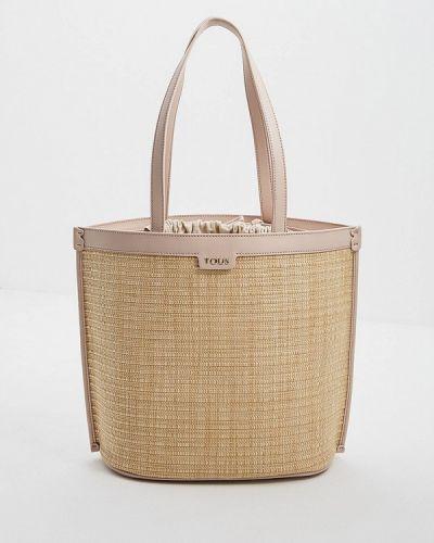 Кожаный сумка с ручками Tous