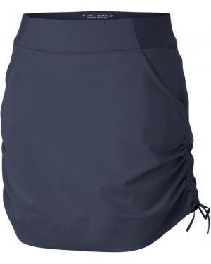 Нейлоновая синяя юбка Columbia