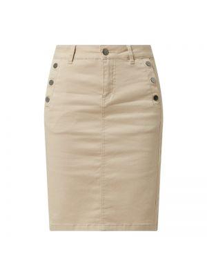 Beżowa spódnica bawełniana Fransa