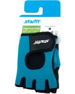 Кожаные перчатки эластичные для фитнеса Star Fit