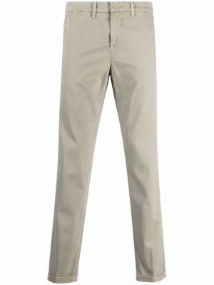 Серые хлопковые брюки Fay