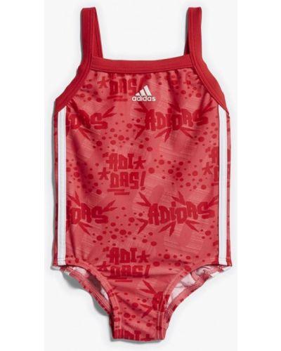 Купальник красный Adidas