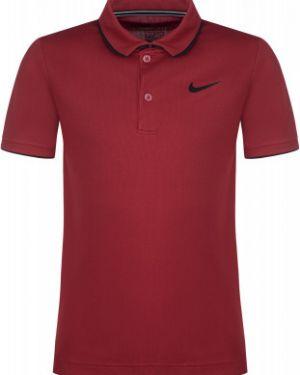 Поло красное Nike
