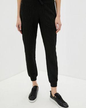 Черные спортивные брюки Aeronautica Militare