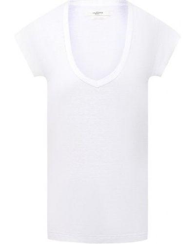 Льняная футболка - белая Isabel Marant Étoile