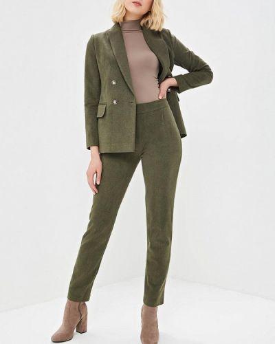 Брючный костюм зеленый хаки Kristina Kapitanaki