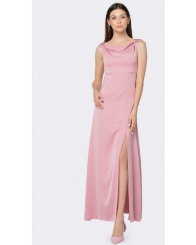 Розовое вечернее платье Cat Orange