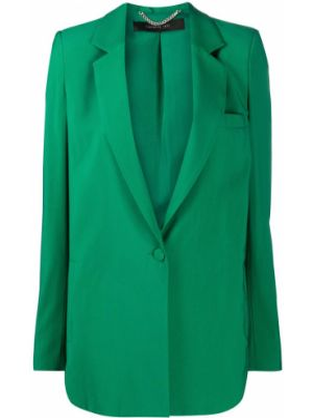 Прямой удлиненный пиджак Federica Tosi