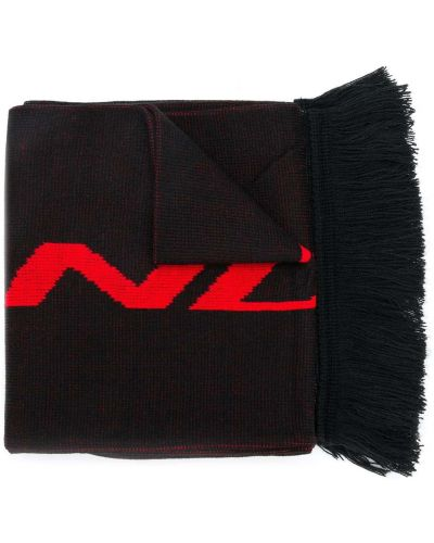 Czarny szalik z akrylu Represent