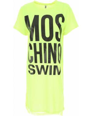 Strój kąpielowy bandee z logo strój kąpielowy Moschino